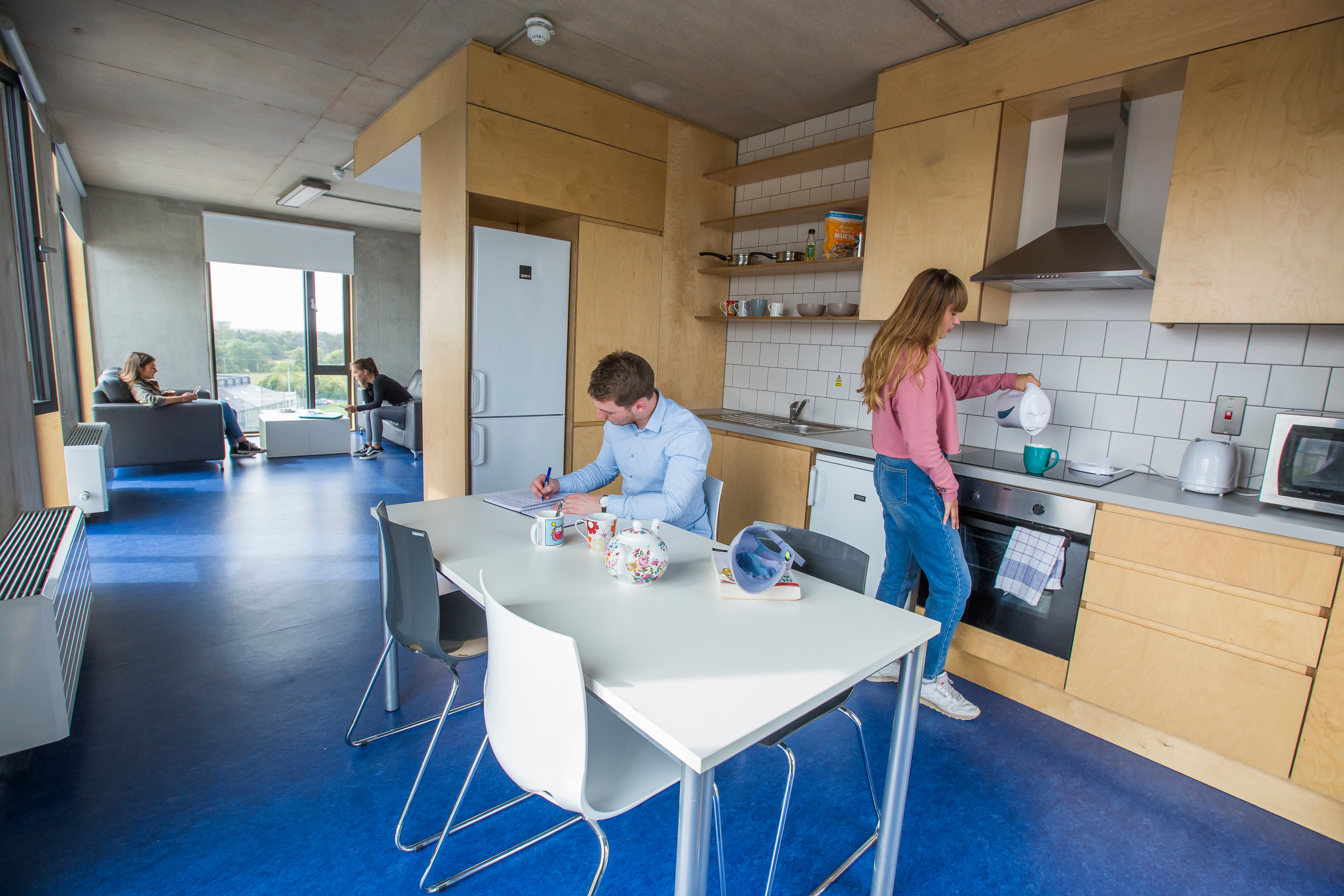 Maynooth_campus_residence_hall_common_area