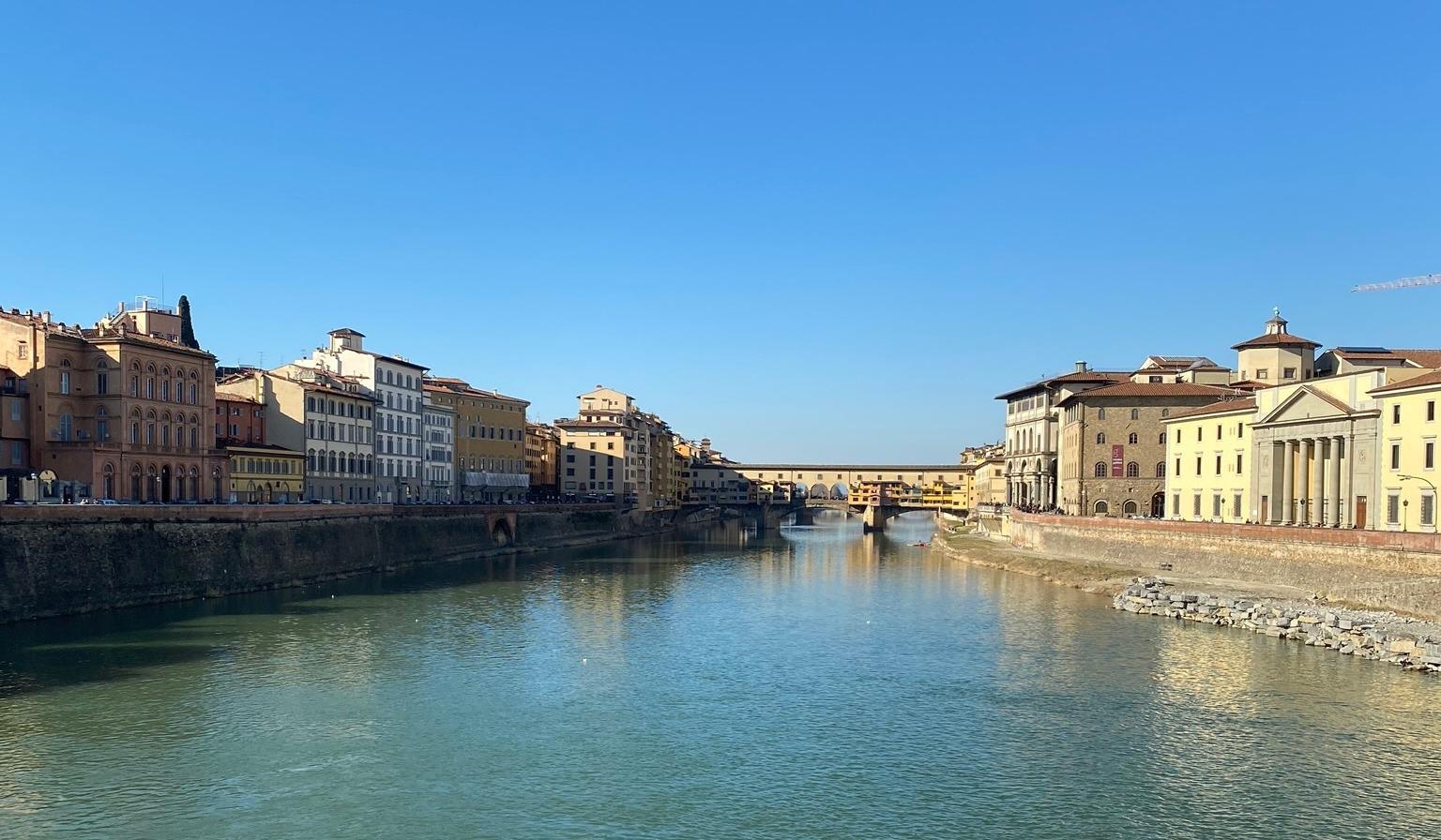 CAPAStudyAbroad_Spring2020_Florence_Sara Shriber_Bridge on Arno River (1)