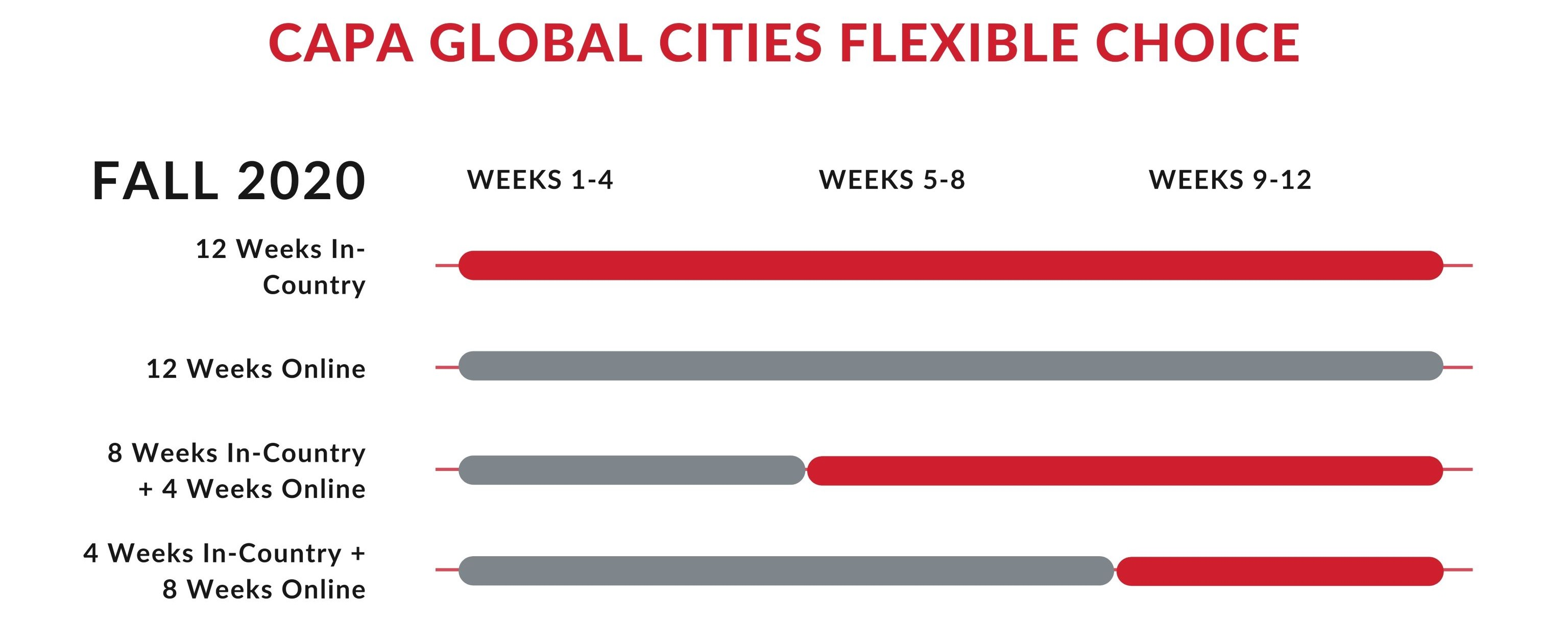 CAPA Global Cities Flexible Choice Fall 2020-2