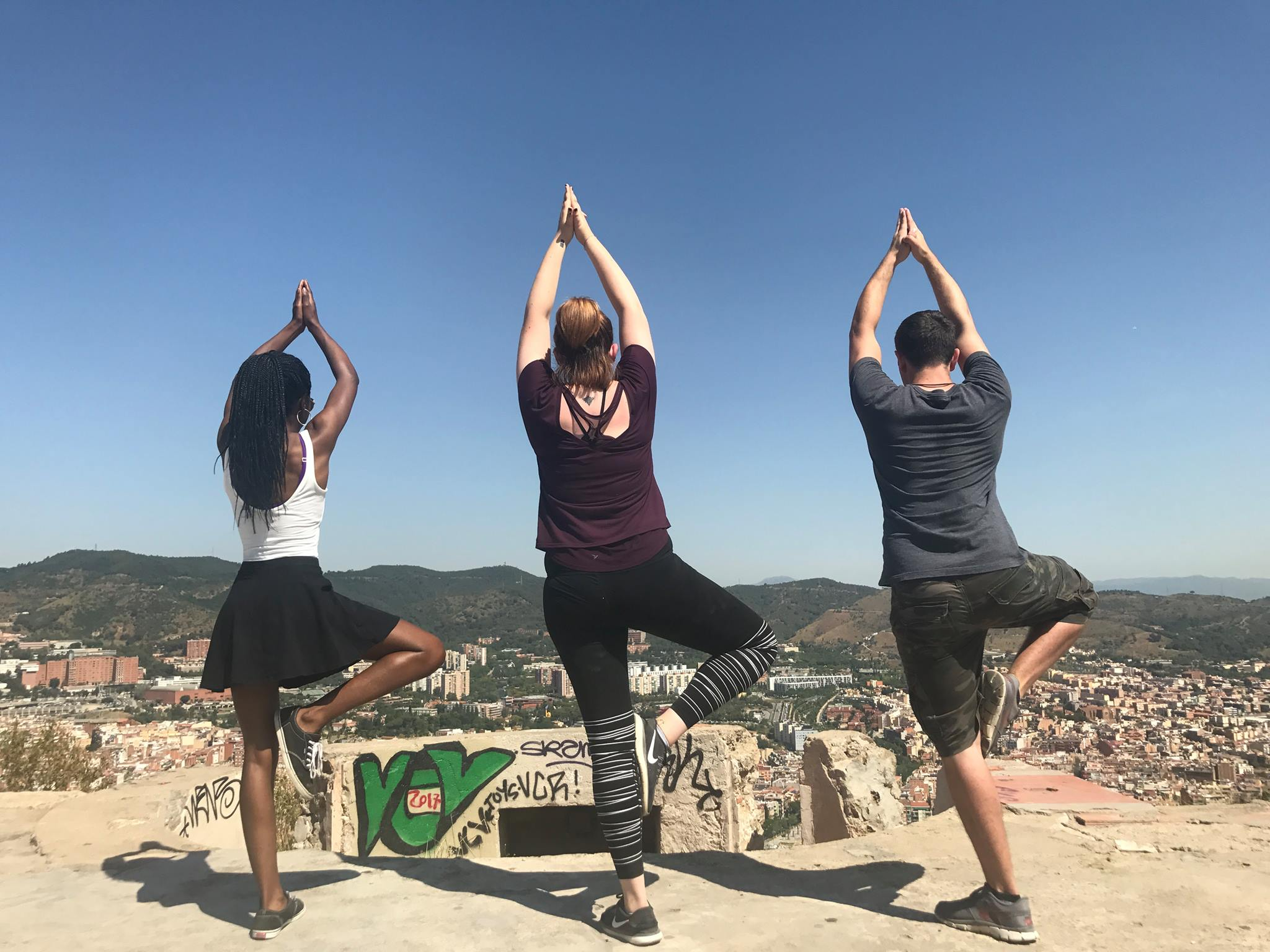 CAPAStudyAbroad_Barcelona_Summer2017_Bunker Yoga.jpg